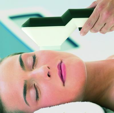 IPL hair removal on face
